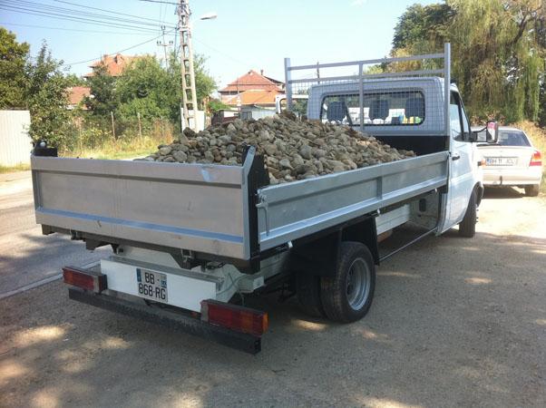 Transport nisip pietris oradea